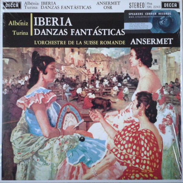 Albéniz, Turina / L'Orchestre De La Suisse Romande, Ansermet Iberia / Danzas Fantásticas Vinyl