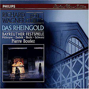 Wagner - McIntyre, Zednik, Becht, Schwarz, Pierre Boulez Das Rheingold
