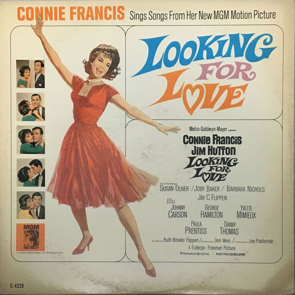 Connie Francis ings Songs From Her New MGM Motion Picture