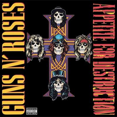 Guns N' Roses Appetite For Destruction Vinyl