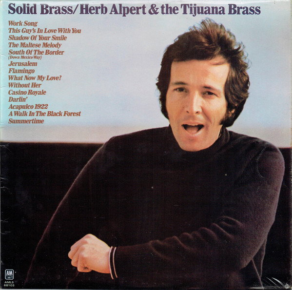 Herb Alpert & The Tijuana Brass Solid Brass Vinyl