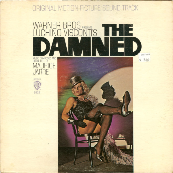 Jarre Maurice The Damned Vinyl