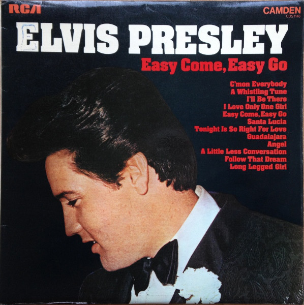 Presley, Elvis Easy Come, Easy Go Vinyl
