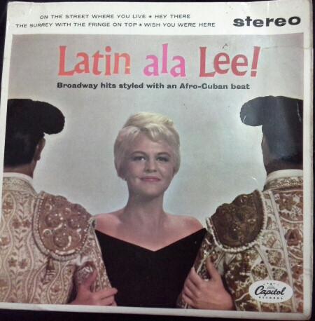Lee, Peggy Latin Ala Lee