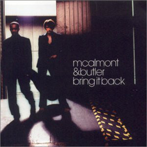 McAlmont And Butler Bring It Back CD