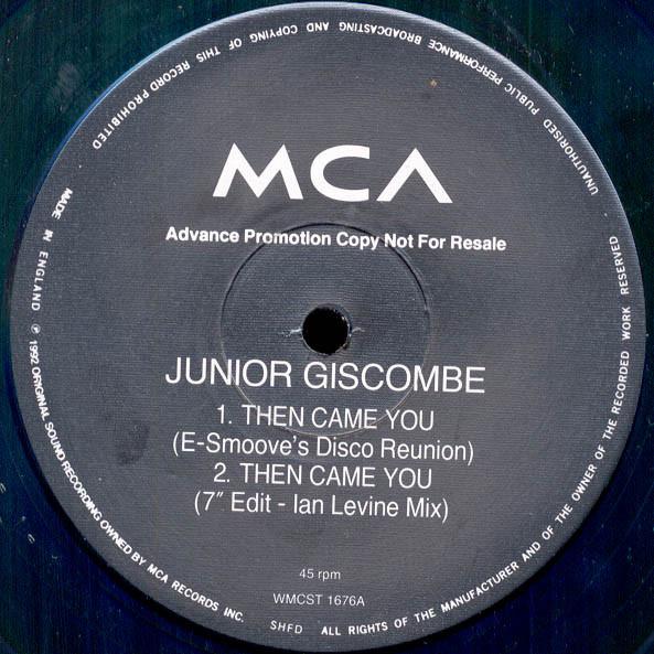 Junior Then Came You Vinyl
