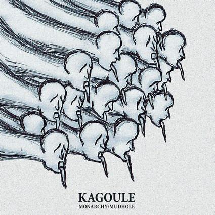 Kagoule Monarchy / Mudhole Vinyl