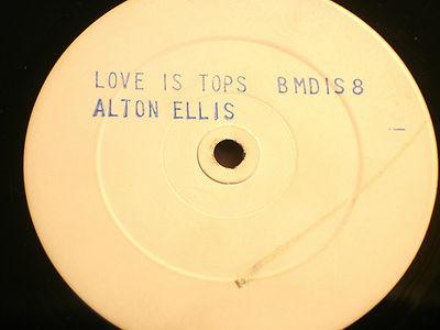 Alton Ellis Love Is Tops Vinyl