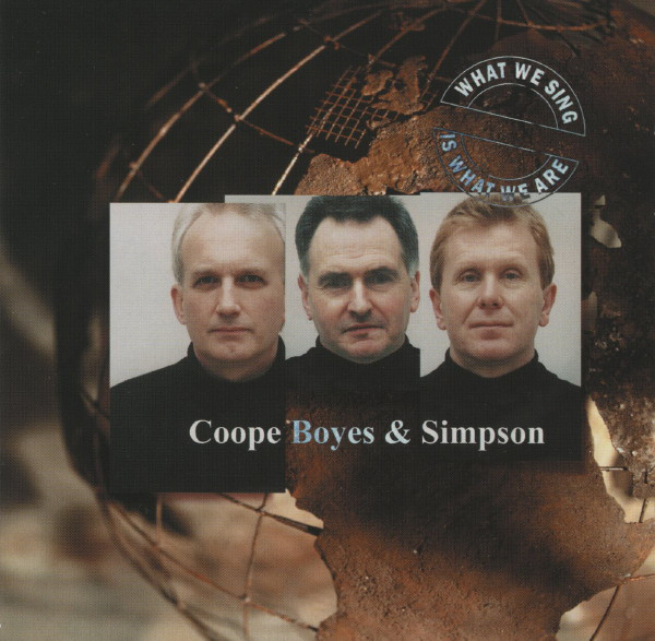 Coope Boys & Simpson What We Sing CD