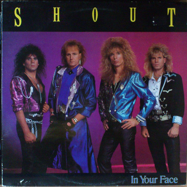 Shout In Your Face Vinyl