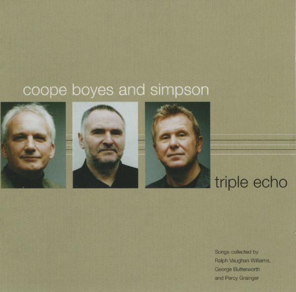 Coope Boyes & Simpson Triple Echo CD