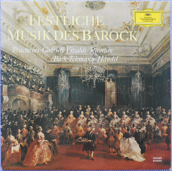 Various Festliche Musik Des Barock Vinyl