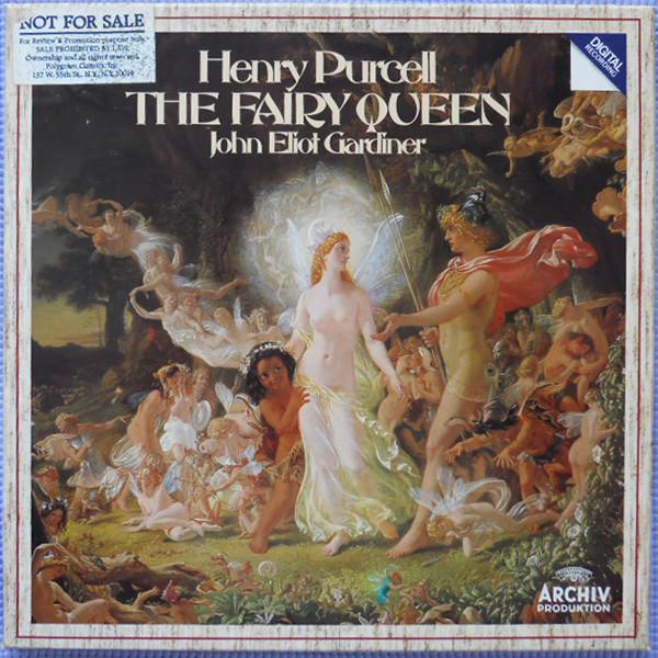 Purcell - John Eliot Gardiner The Fairy Queen Vinyl