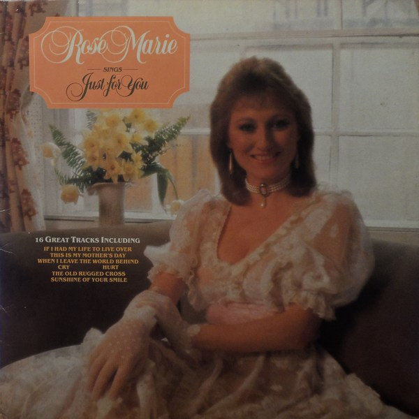 Marie, Rose Sings Just For You Vinyl