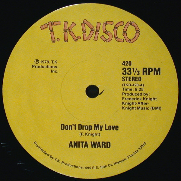 Ward, Anita Don't Drop My Love Vinyl