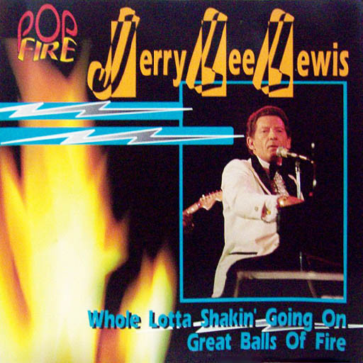 Lewis, Jerry Lee Pop Fire CD