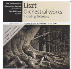 Liszt, BBC Philharmonic, Gianandrea Noseda, Martin Roscoe Orchestral Works