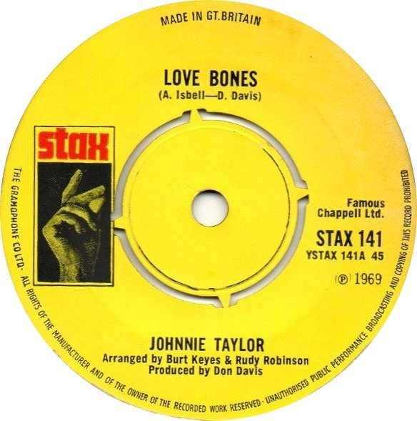 Taylor, Johnnie  Love Bones