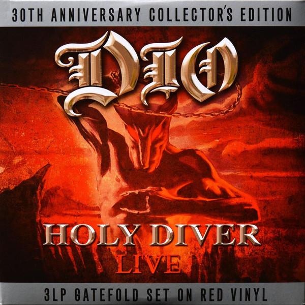 Dio Holy Diver Live  Vinyl