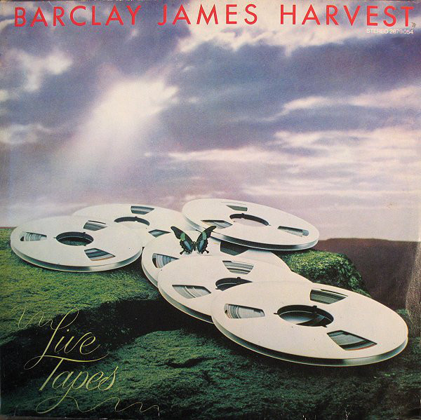 Barclay James Harvest Live Tapes Vinyl