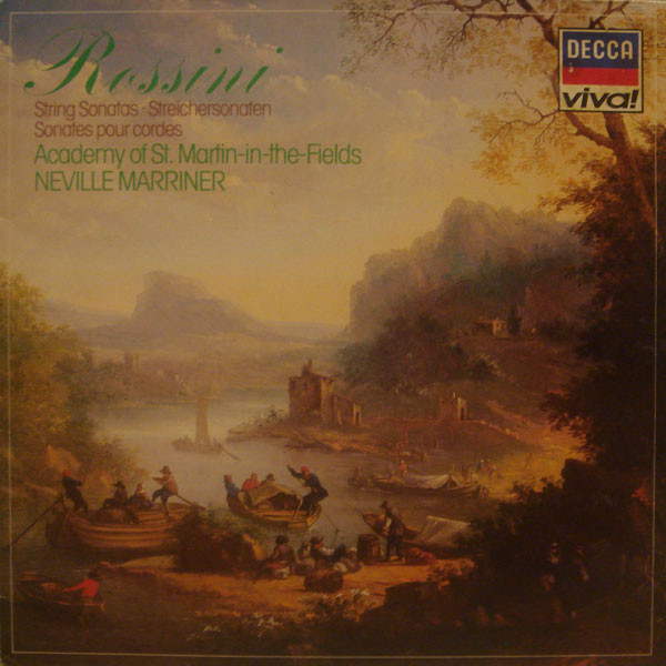 Rossini - Neville Marriner String Sonatas Vinyl
