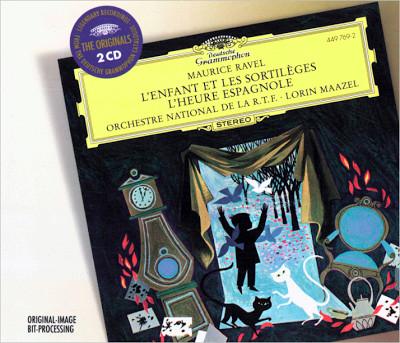 Ravel - Lorin Maazel L'Enfant Et Les Sortilèges, L'Heure Espagnole Vinyl