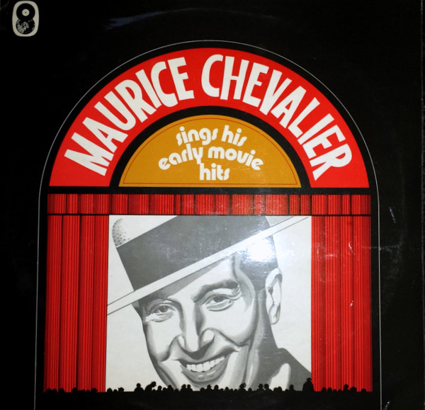 Chevalier, Maurice Sings His Early Movie Hits Vinyl