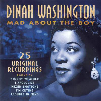 Washington, Dinah Mad About The Boy Vinyl