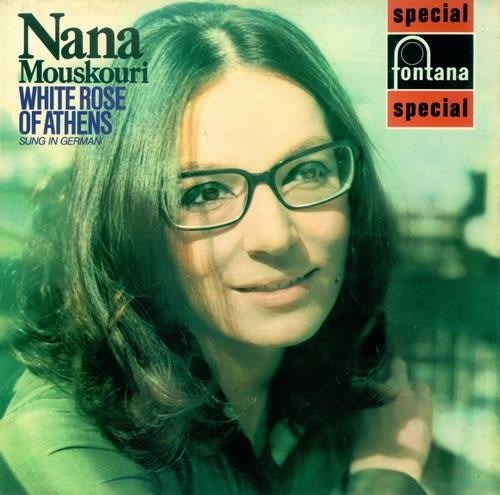 Mouskouri, Nana White Rose Of Ahtens Vinyl