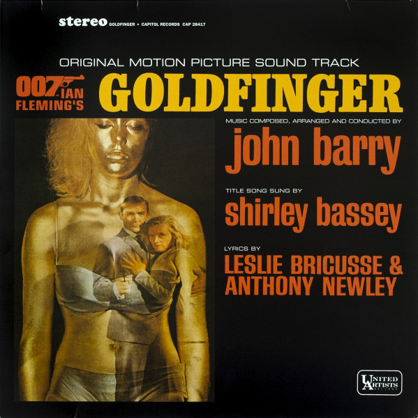 Barry, John Goldfinger (Original Motion Picture Sound Track) Vinyl