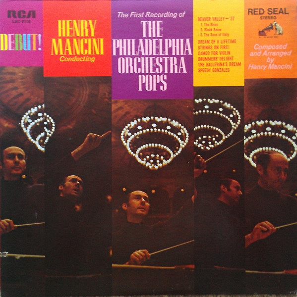Mancini, Henry Debut! - Henry Mancini Conducting The First Recording Of The Philadelphia Orchestra Pops