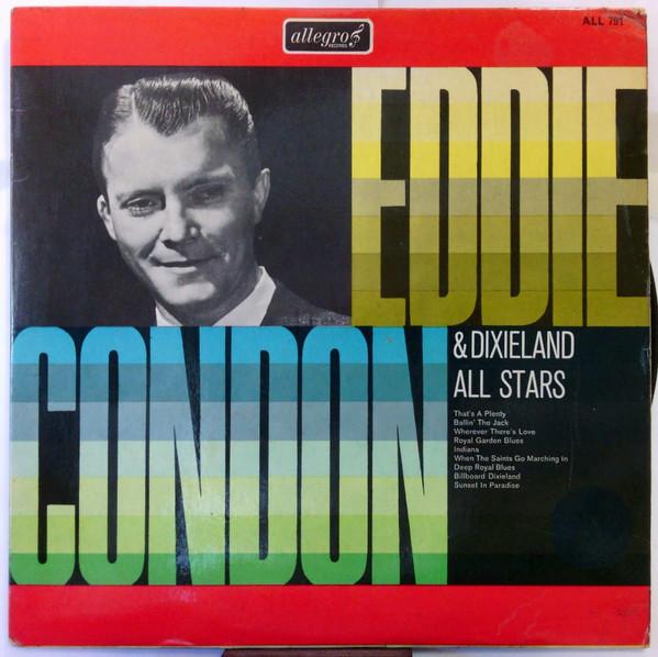Condon, Eddie Eddie Condon & Dixieland All Stars Vinyl