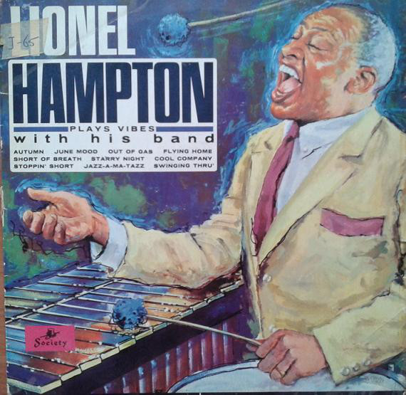 Lionel Hampton With His Band Plays Vibes With His Band Vinyl
