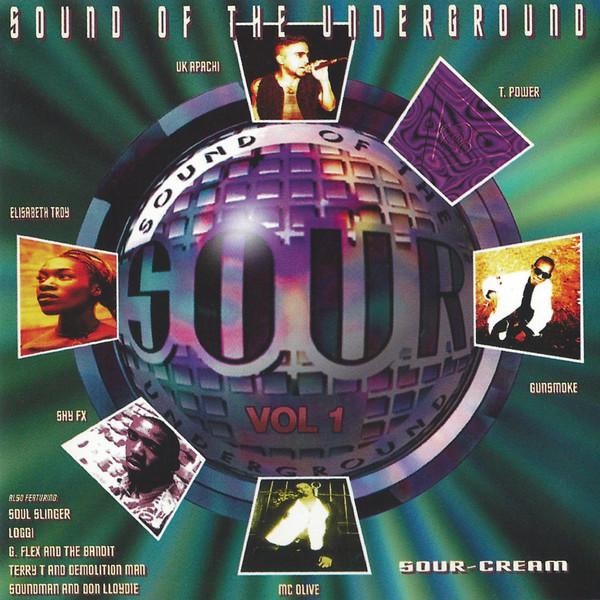 Various Sound Of The Underground / Volume One Sour-Cream Vinyl