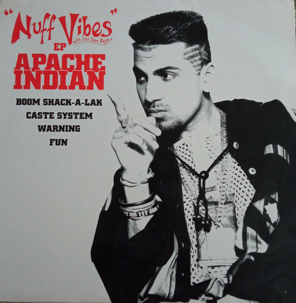 Apache Indian Nuff Vibes E.P. Vinyl