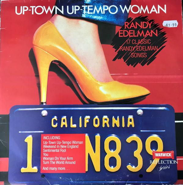 Randy Edelman Up-Town Up-Tempo Woman Vinyl
