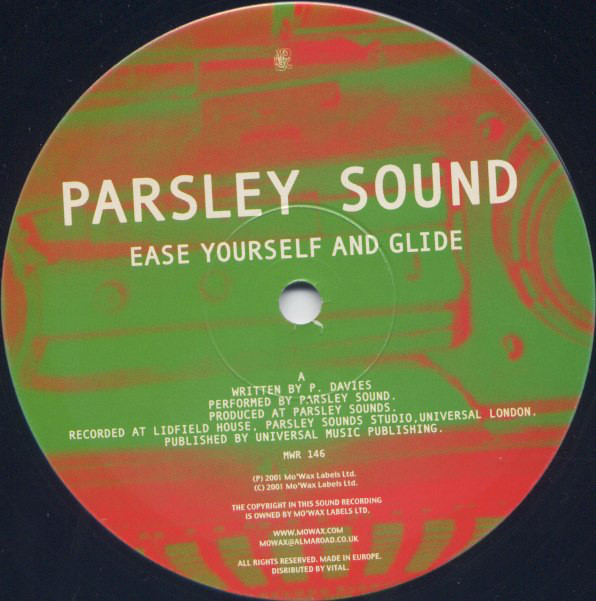 Parsley Sound Ease Yourself And Glide Vinyl
