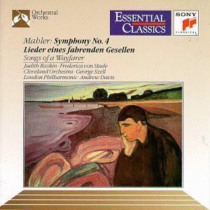 Mahler - Judith Raskin, Frederica von Stade, George Szell, Andrew Davis Symphony No. 4 CD