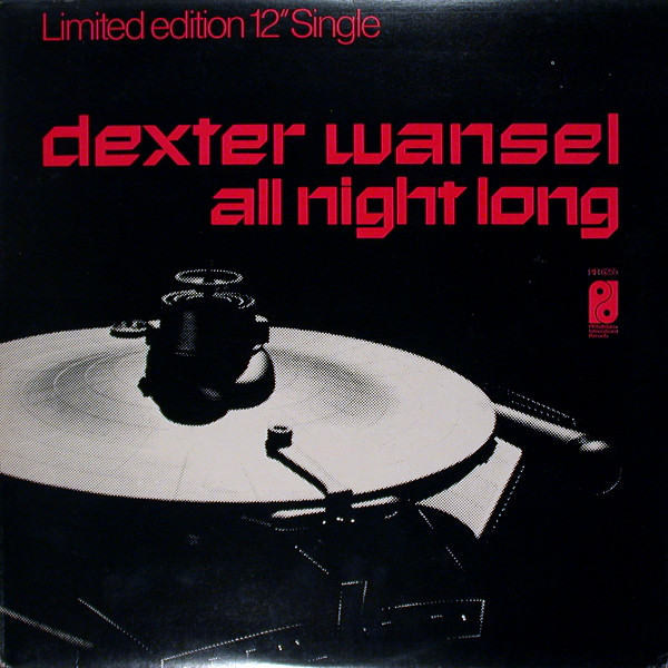 Wansel, Dexter All Night Long / Disco Lights Vinyl