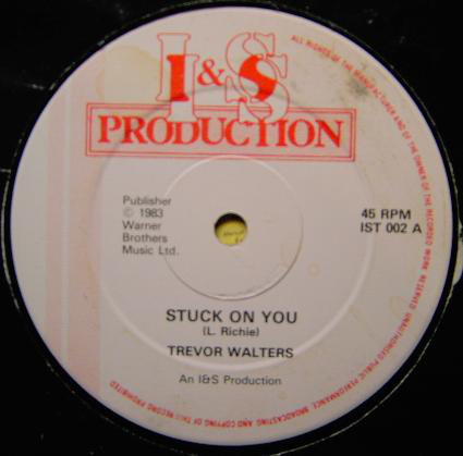 Walters, Trevor Stuck On You Vinyl