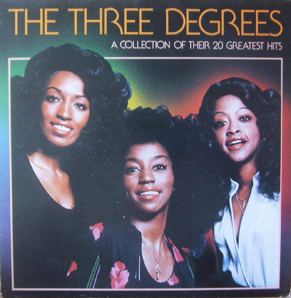 Three Degrees (The) A Collection Of Their 20 Greatest Hits Vinyl