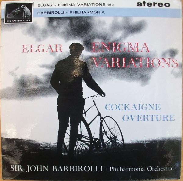 Elgar - John Barbirolli Enigma Variations / Cockaigne Overture Vinyl