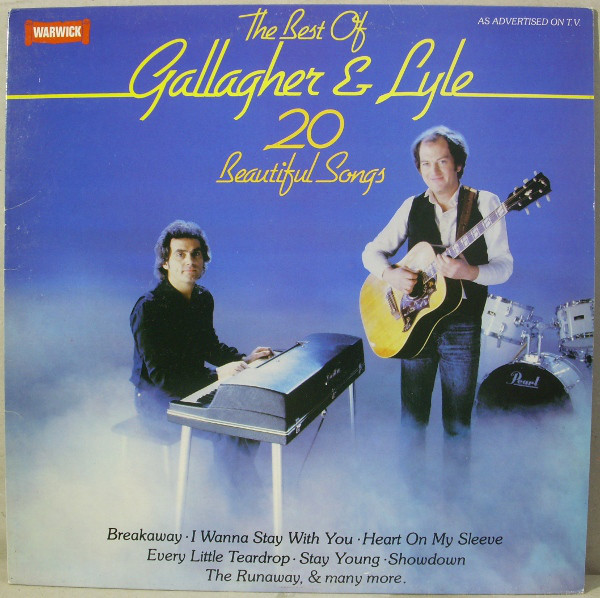 Gallagher & Lyle The Best Of Gallagher & Lyle (20 Beautiful Songs) Vinyl