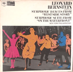 Bernstein, Leonard / New York Philarmonic Leonard Bernstein Conducts His Symphonic Dances From West Side Story / Symphonic Suite From On The Waterfront Vinyl