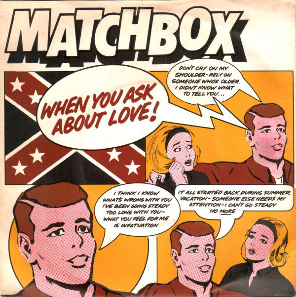 Matchbox When You Ask About Love Vinyl