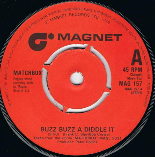 Matchbox Buzz Buzz A Diddle It  Vinyl