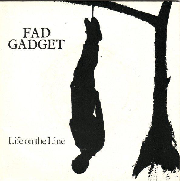 Fad Gadget Life On The Line Vinyl