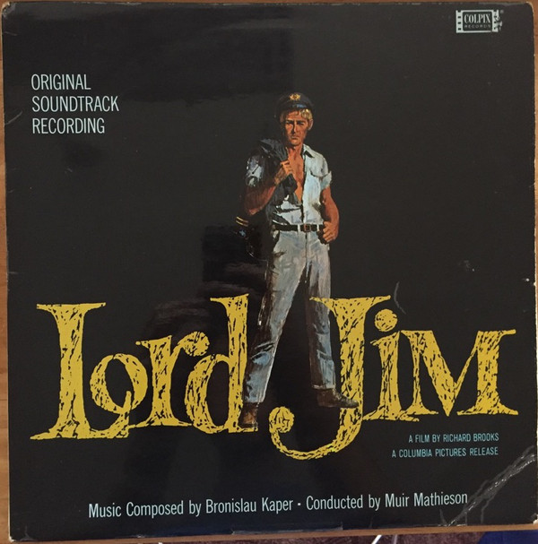 Bronislau Kaper Lord Jim (Original Soundtrack Recording) Vinyl