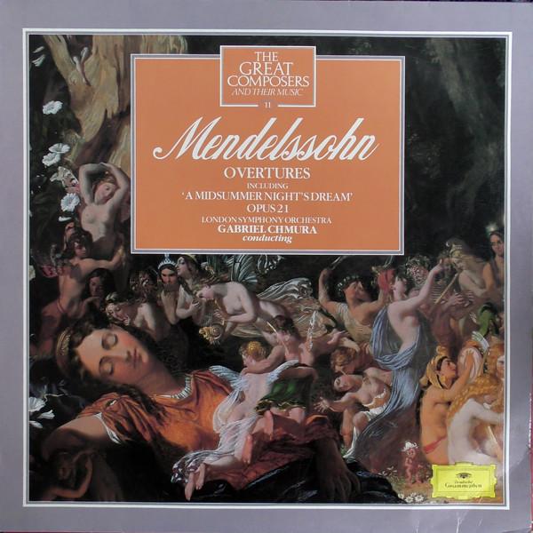 Mendelssohn - Gabriel Chmura Overtures Vinyl