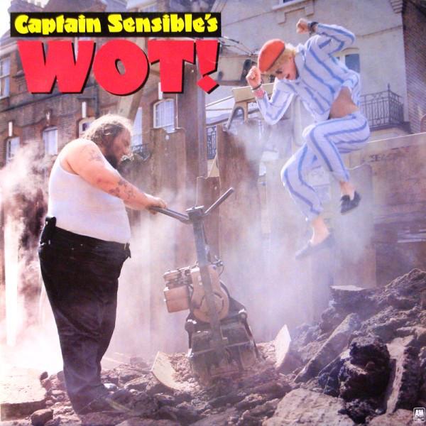 Captain Sensible Wot! Vinyl